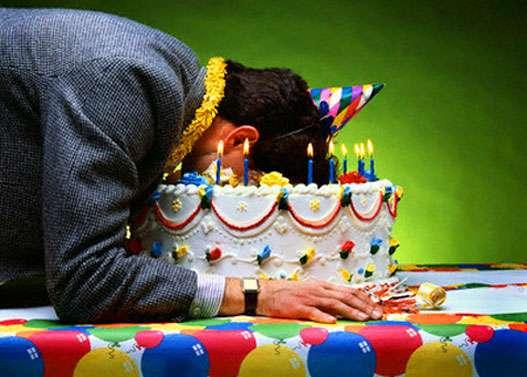 birthday cake / торт на день рождения