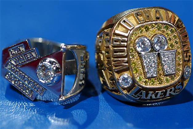 Чемпионские перстни / Champions Rings - Los Angeles Sparks and Lakers