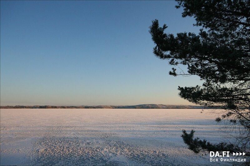 Новый год в финских коттеджах