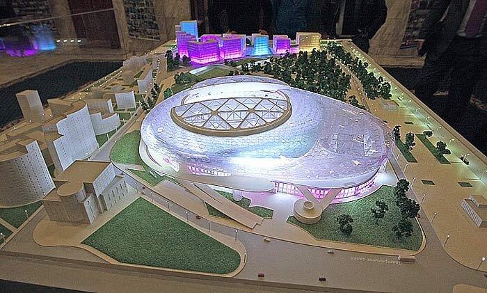 Стадион Динамо в Москве к Чемпионату мира 2018