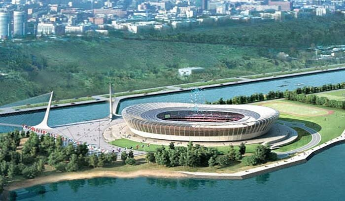Стадион в Нижнем Новгороде к Чемпионату мира 2018