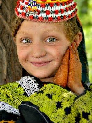 Kalasha girl