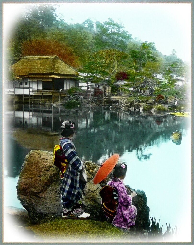 Japanese Park.Old Japan