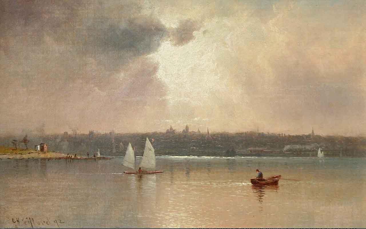 Чарльз Генри Гиффорд, New Bedford, 1892, Charles Henry Gifford (1839-1904)