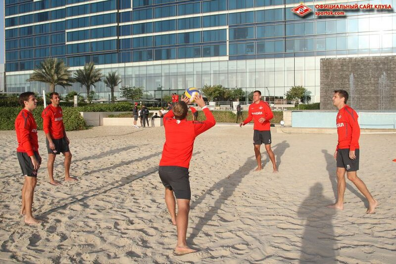 Тренировочный день «Спартака» в Эмиратах (Фото)