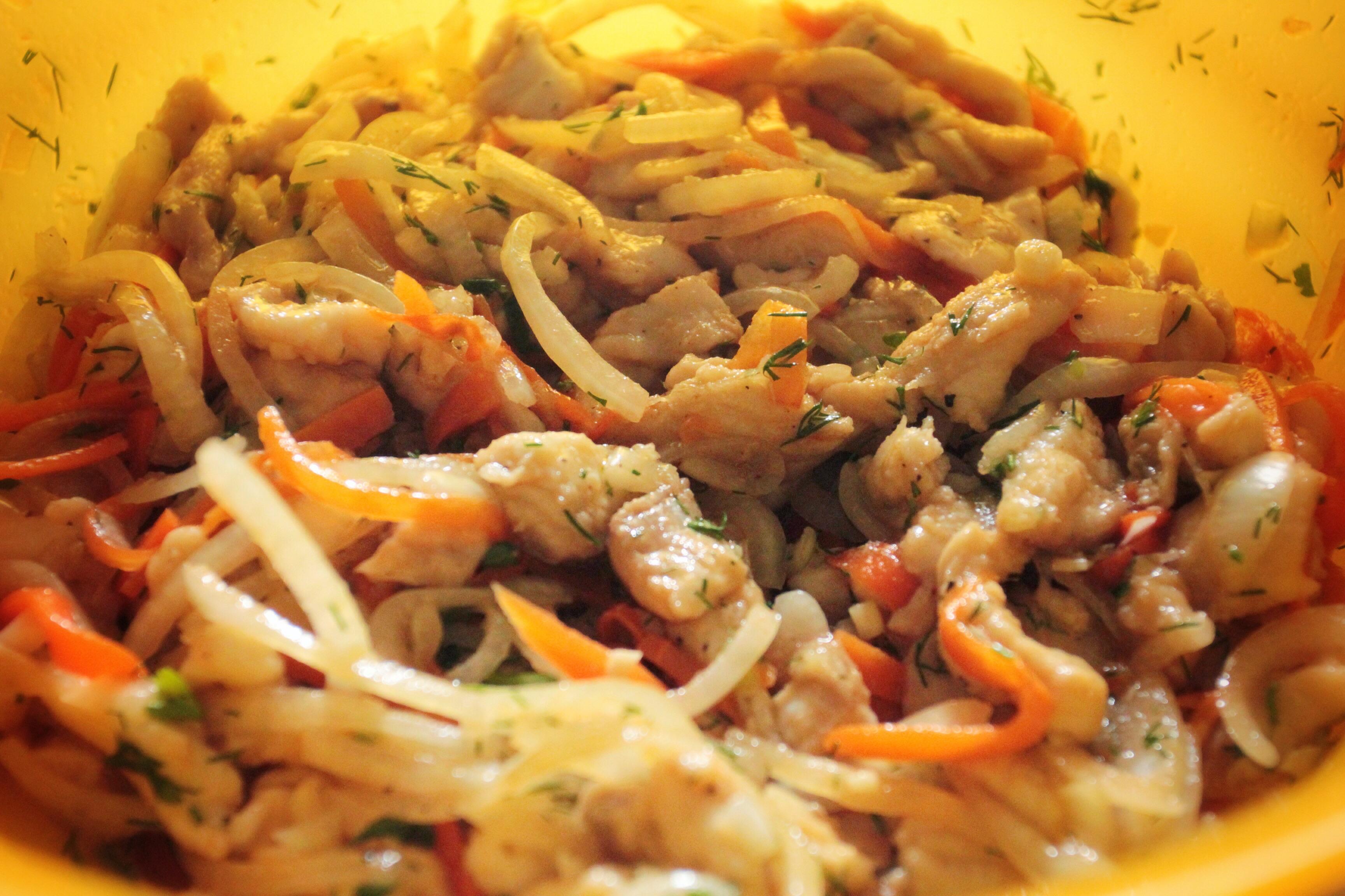 Хе из щуки по-корейски рецепт пошаговое фото