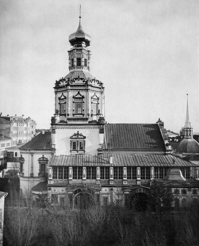 Богоявленский собор в Московском Богоявленском монастыре.