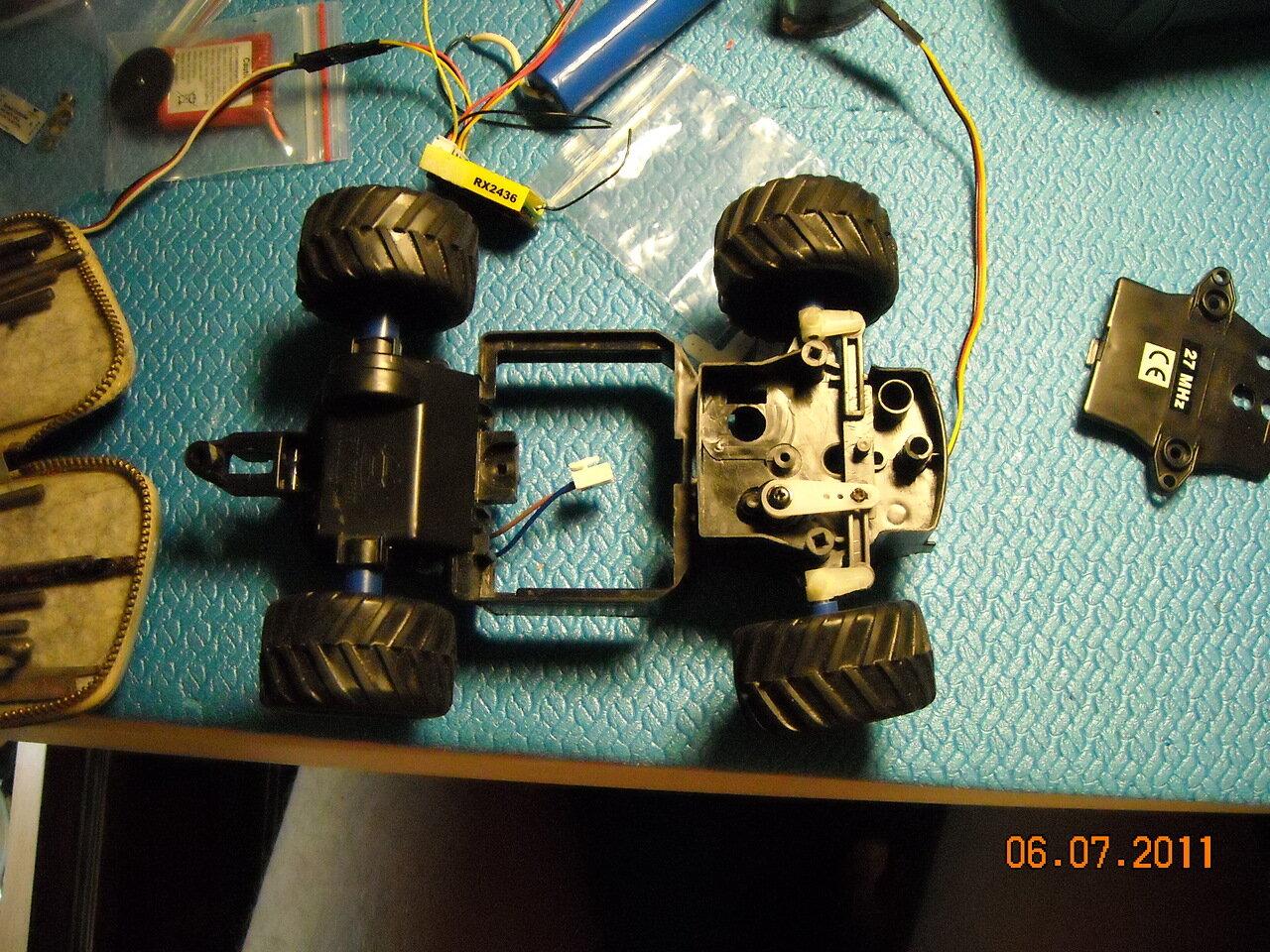 Как сделать робота на радиоуправлении своими руками