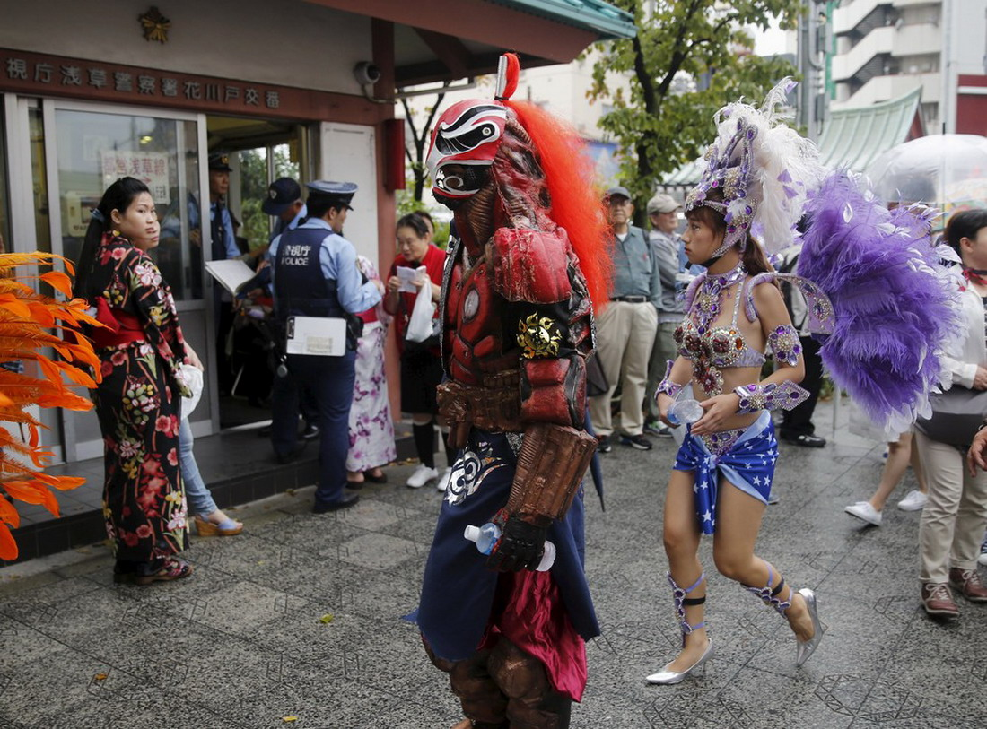 Чем удивил Asakusa Samba Carnival в Японии?