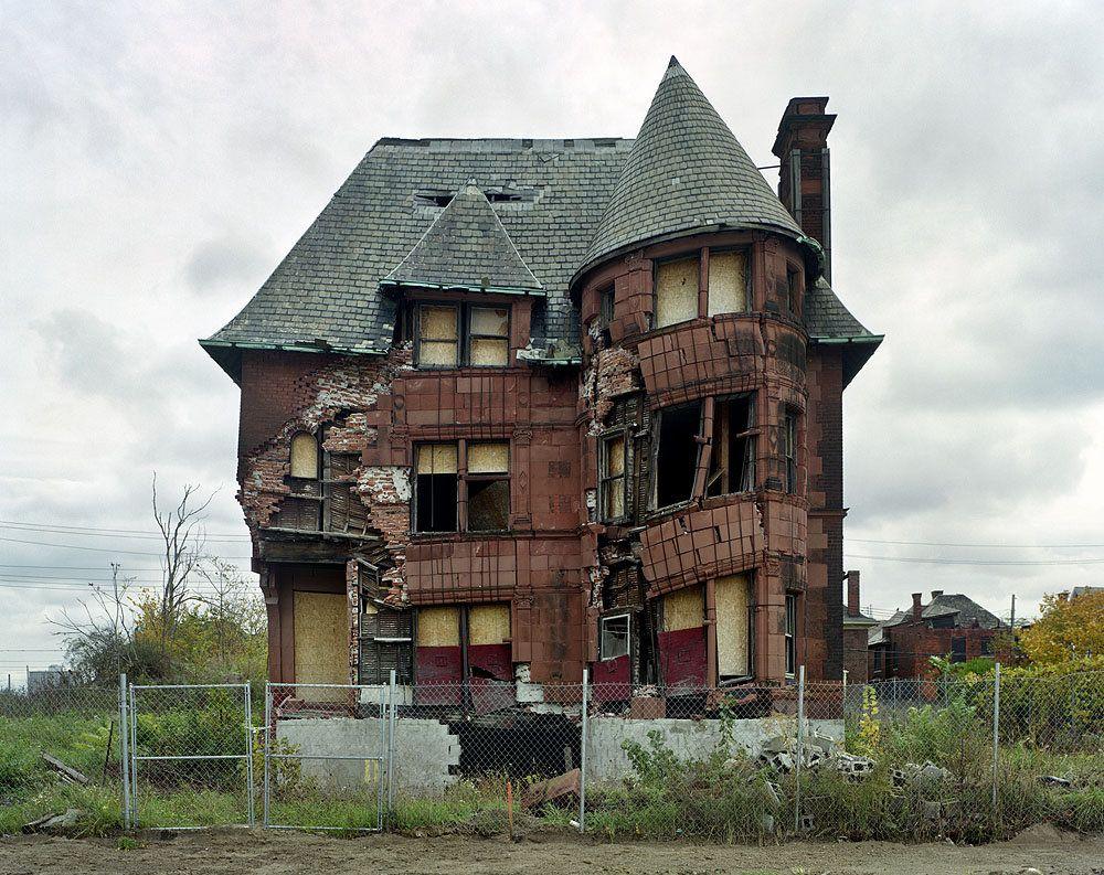 Разруха из Детройта (22 фото)
