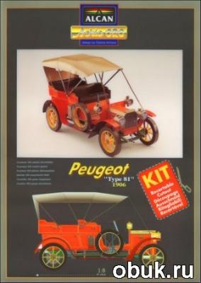 Книга Alcan - автомобиль Peugeot Type 81, 1906 год