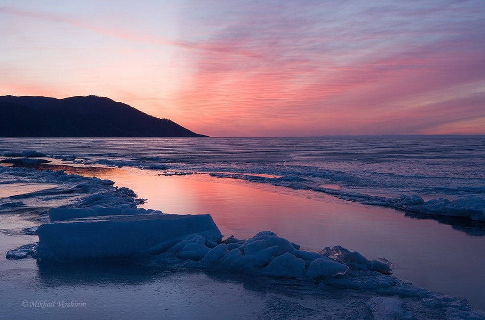 Сибирские фотопейзажи.Фотограф Михаил Вершинин