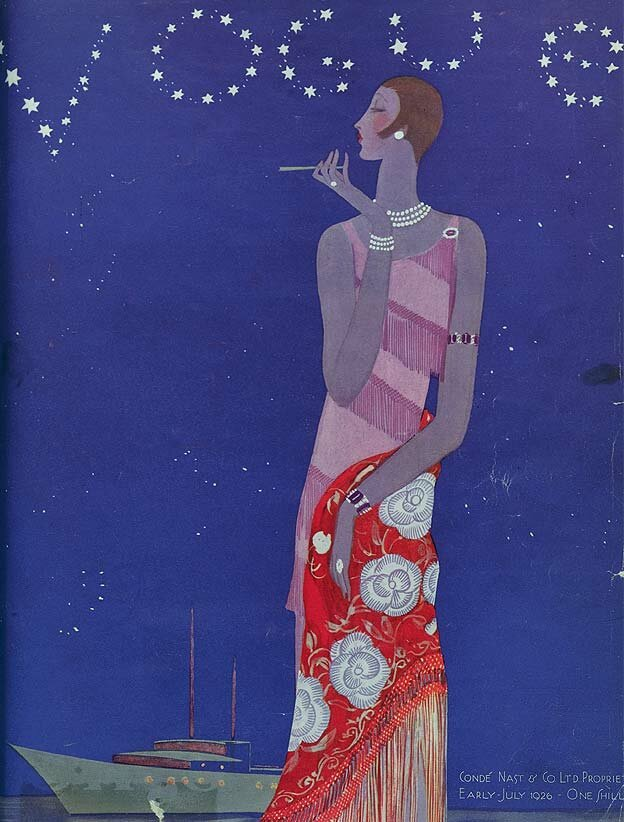 Vogue Magazine cover  1926