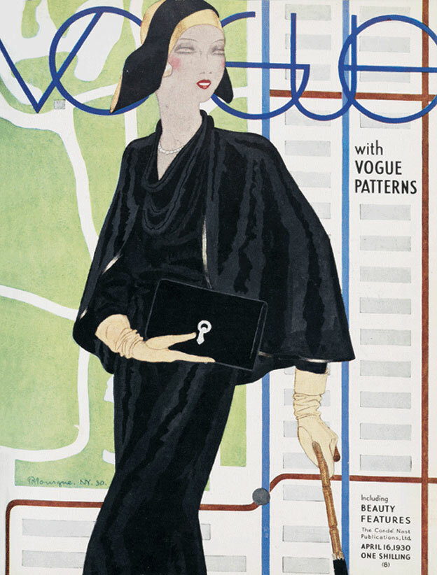 Vogue Magazine cover  1930