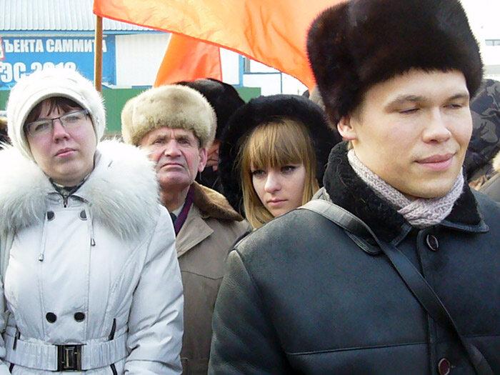 Митинг в Приморском крае