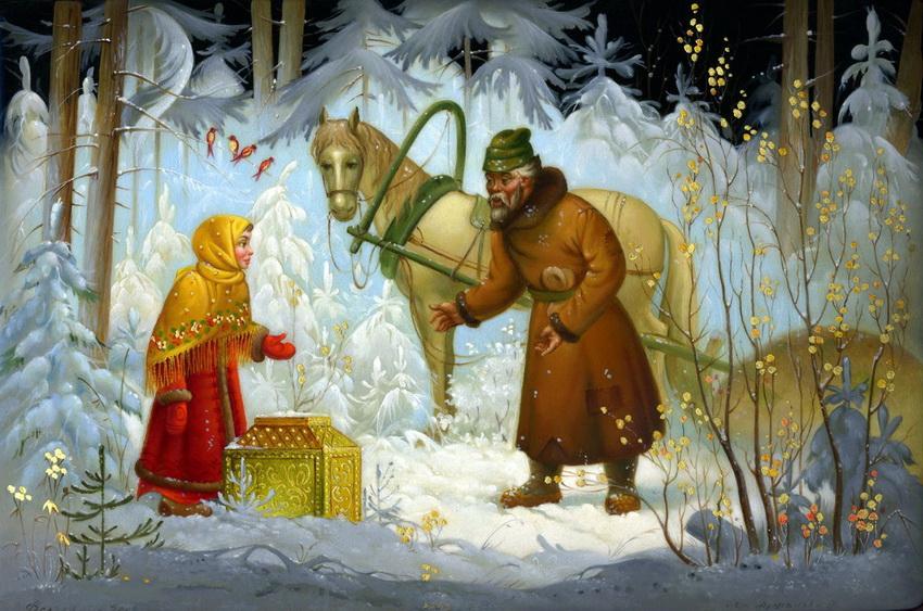 Раскраски из сказок русские народные сказки Скачать и