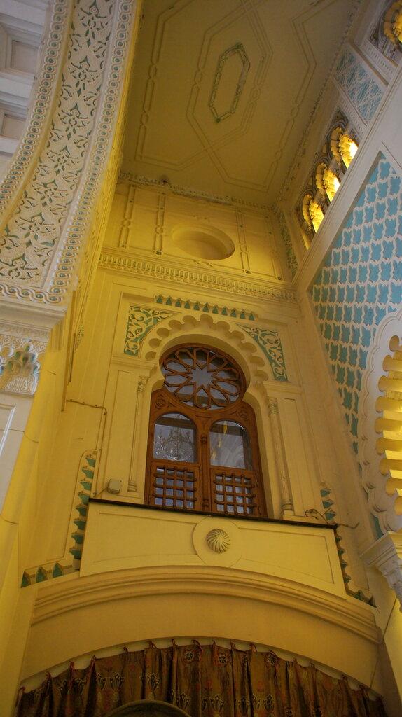 Сандуны.Мавританский дворик.