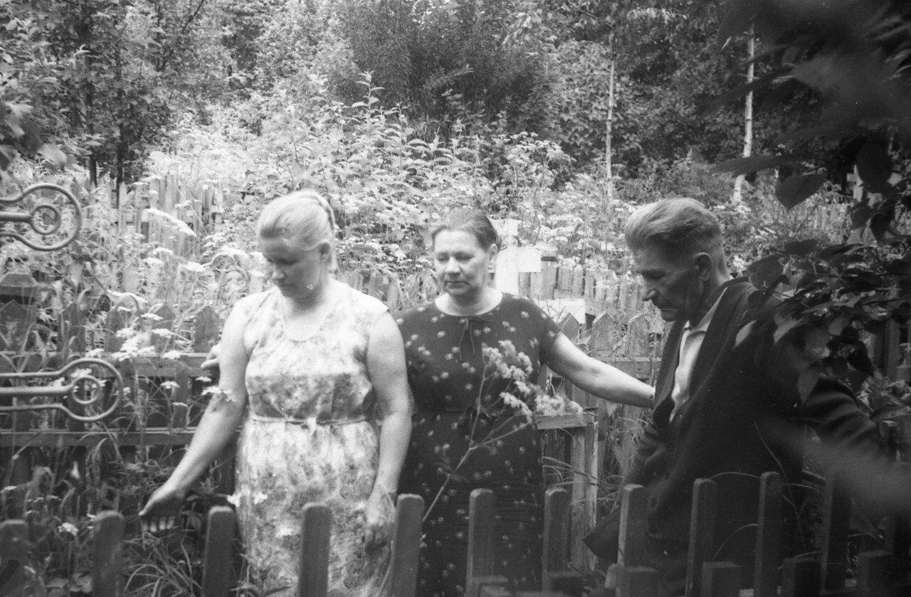 1967. На Горбачёвском кладбище