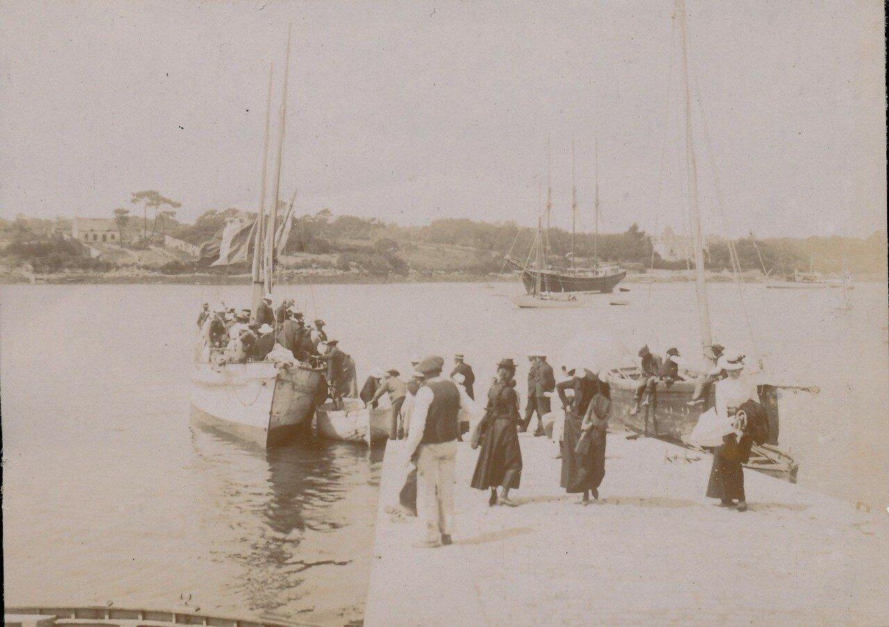 1900. На пристани