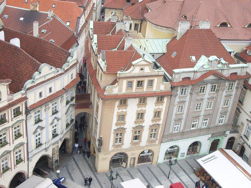 Домики на Староместской площади