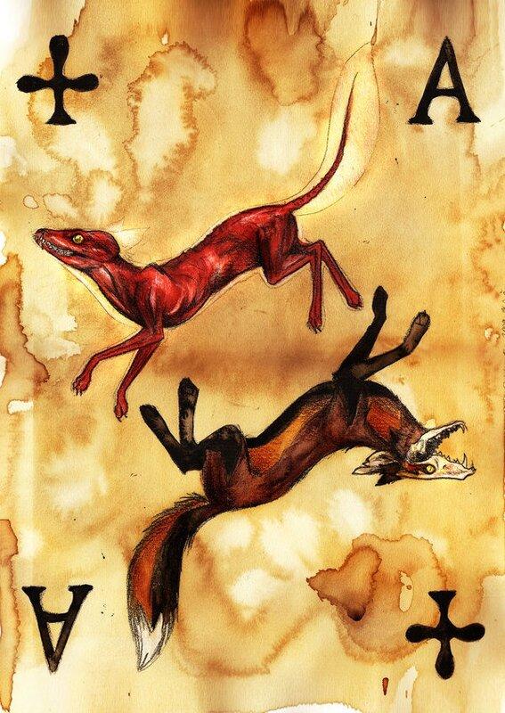 CulpeoFox's Gallery, игральные карты