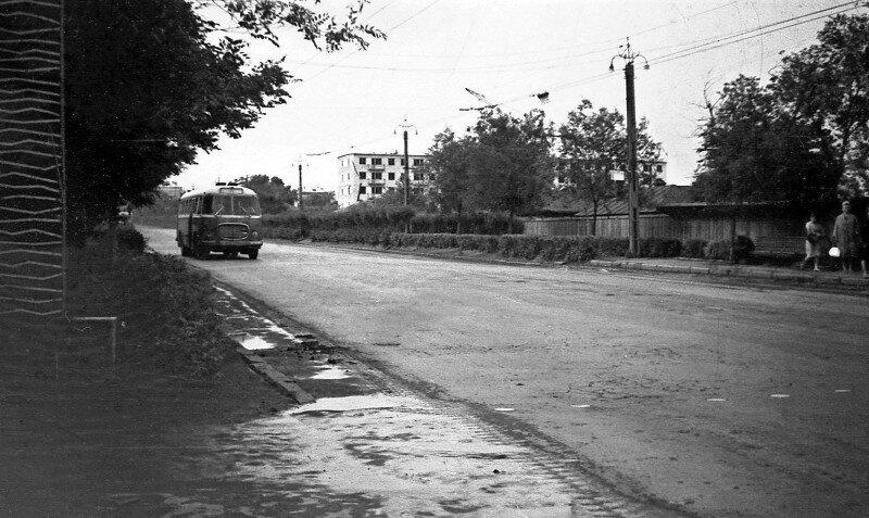 Ул. Свободы. Челябинск. 1965 год.