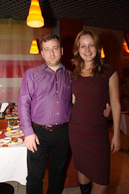 Елена Бурдюгова и Сергей Петренко