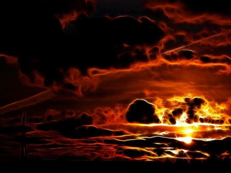 Закат. Фантазия