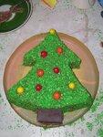 Новогодний торт елочка рецепт