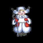 Клипарт Новогодний-Дед Мороз,Снегурочки..