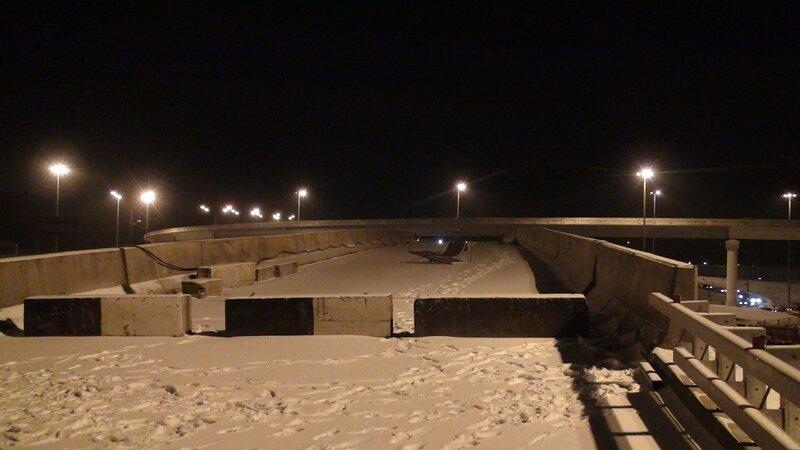 Эстакада через Новорижское шоссе. МКАД-Север - ул. Маршала Жукова