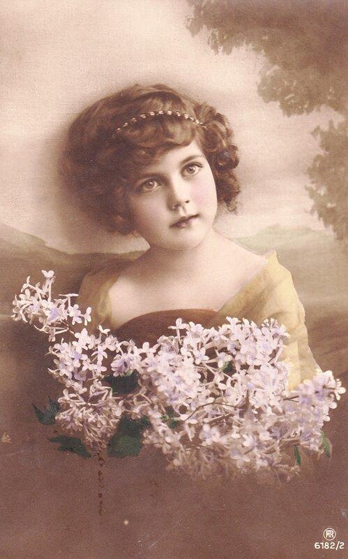 Открытка старинная фото, открытки