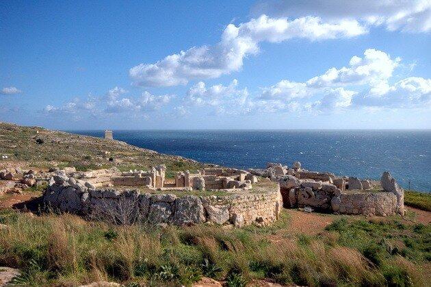 Мегалитические храмы Мальты. Мнайдра