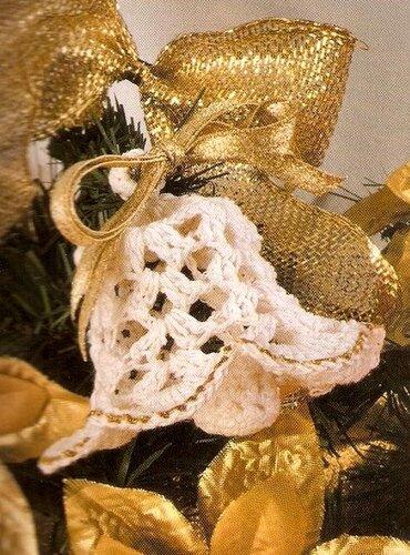 Вязаные новогодние украшения