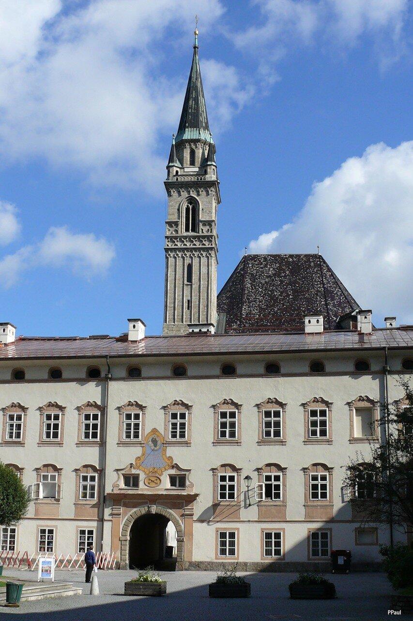 Аббатство святого Петра в Зальцбурге.