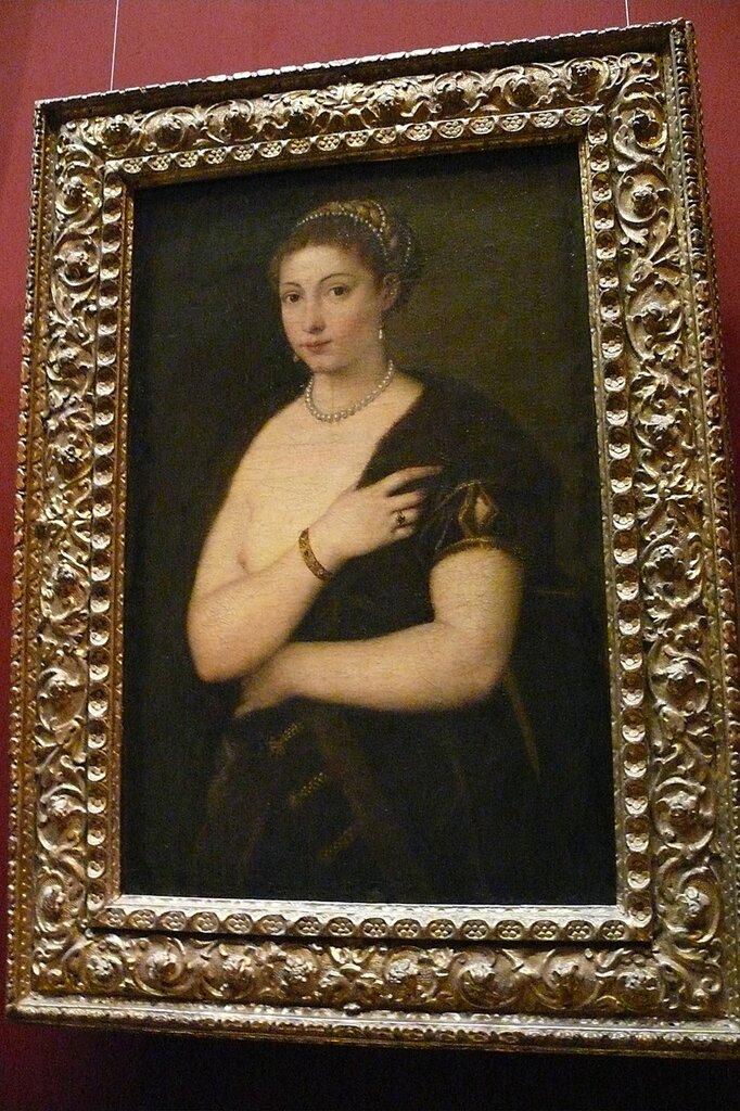 "Тициан ""девушка в мехах""1513"