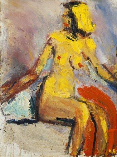 Арон Бух. Элла, 1992, холст, масло