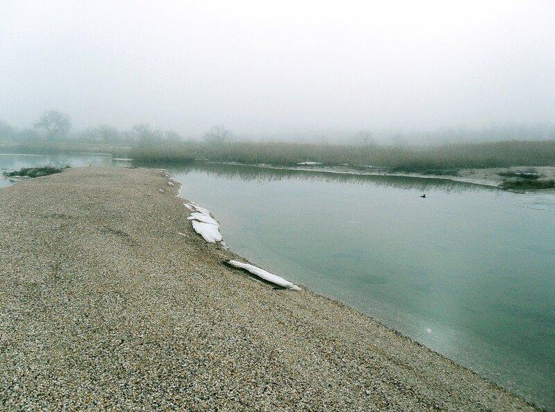 В условиях сильного тумана...
