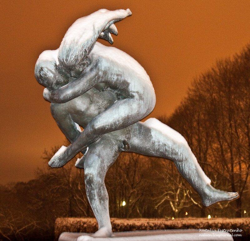 Осло: парк скульптур Вигеланда