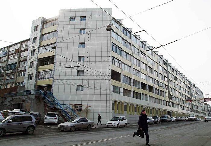 Владивосток, дом у тюрьмы