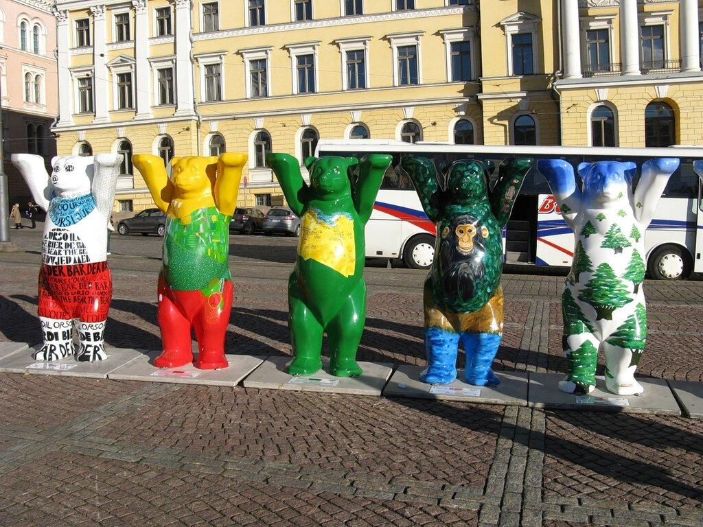 United Buddy Bears in Helsinki