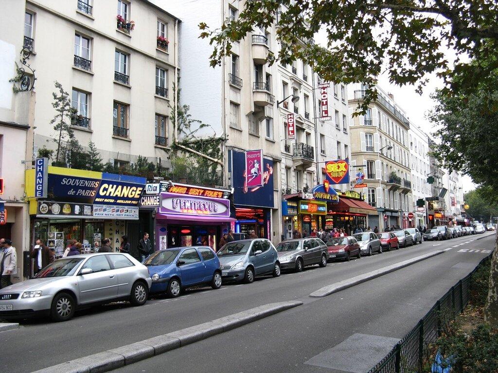 Бульвар Клиши (Boulevard de Clichy), Париж