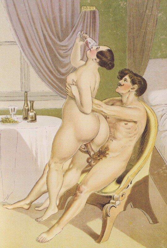 Painters of erotic art by Peter Fendi