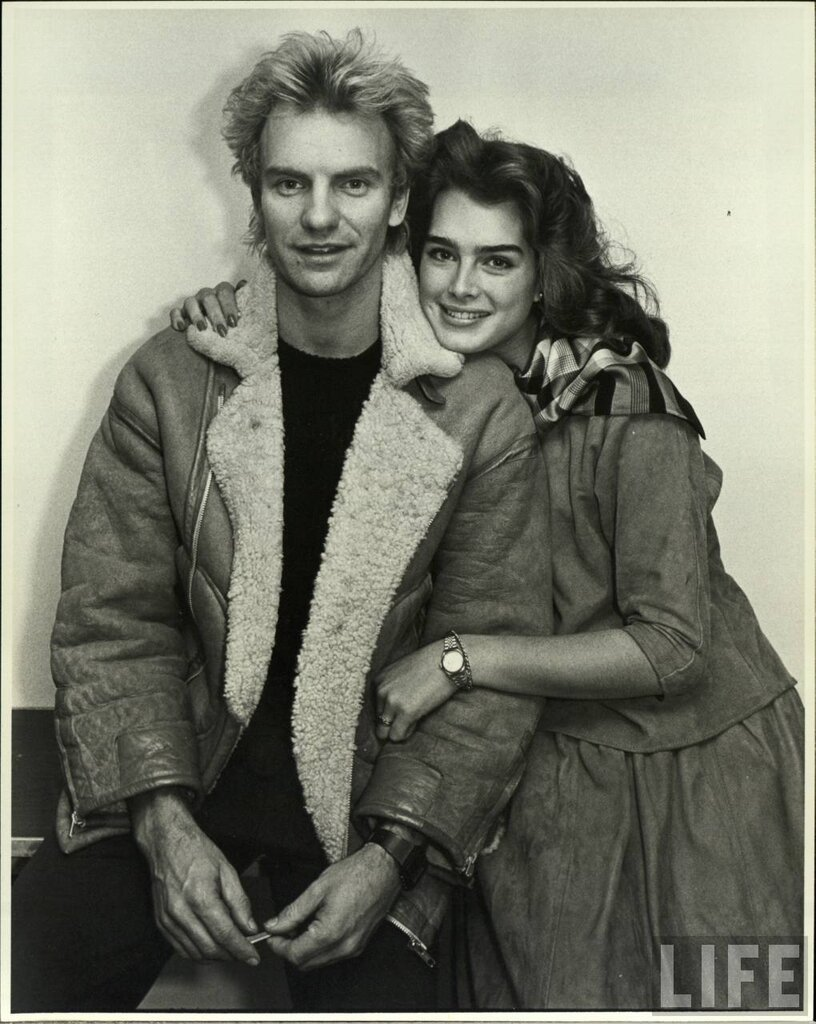 Sting & young Brooke