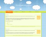 Дизайн для ЖЖ: Облака и звёзды. Дизайны для livejournal. Дизайны для Живого журнала. Оформление ЖЖ. Бесплатные стили. Авторские дизайны для ЖЖ
