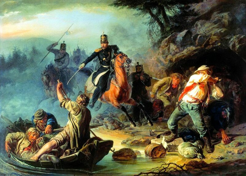 Стычка с финляндскими контрабандистами (1853)