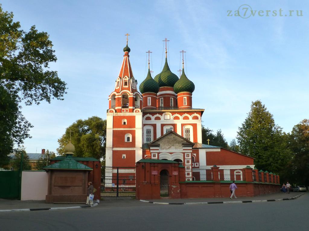 Церковь Михаила Архангела в Ярославле