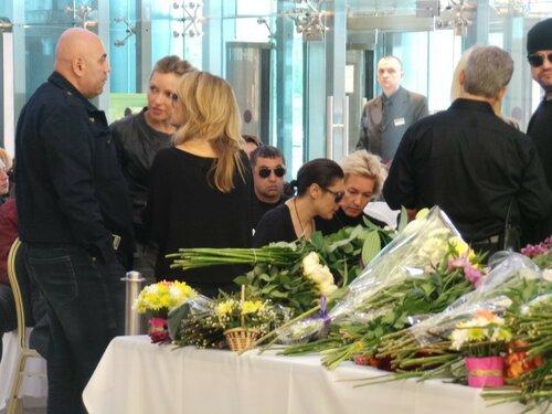 Жанна Фриске последние фото с церемонии прощания