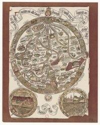 Книга Maps of the world. XV century