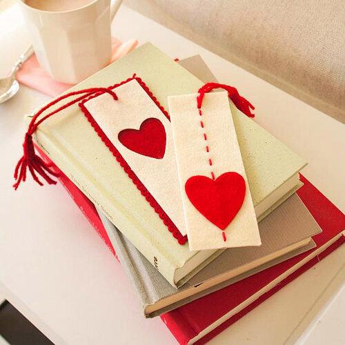 Закладка для книг из фетра